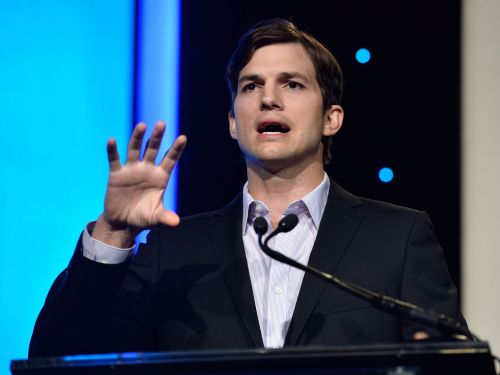 Ashton Kutcher says that he identifies new startups to invest in by asking to see the smartphone home screen of everybody he meets