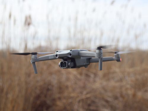 DJI Air 2S has a camera that shoots high-quality videos and photos - an affordable drone ideal for filmmakers