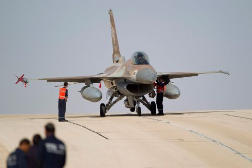 Israel bombs Syria, says strikes thwarted imminent Iran drone attack