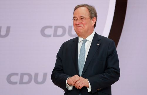 German governor Armin Laschet chosen to lead Angela Merkel's party