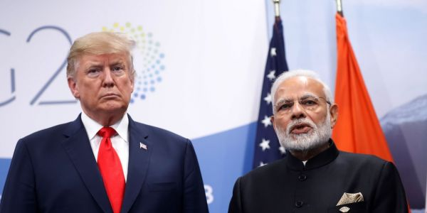 Trump said India asked him to help mediate the Kashmir conflict with Pakistan. India quickly said that's not true