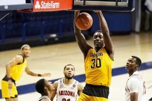 Brown leads Arizona to 74-55 win over Grambling State