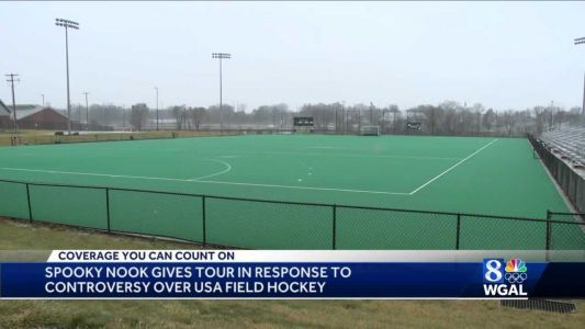 Spooky Nook Sports gives tour following criticism of field, food for USA women's field hockey team
