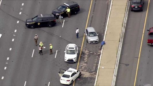 Multiple-vehicle crash closes Outer Loop of Beltway at I-795