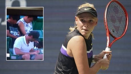 'Wake them up!' Tennis star Vekic amused by dozing fans at Pan Pacific Open match