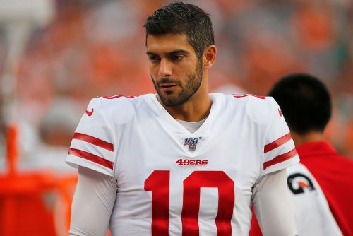 Jimmy Garoppolo's preseason debut was a complete disaster