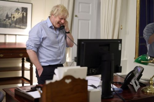 British Prime Minister Boris Johnson urges new trade deal in first call with President Biden