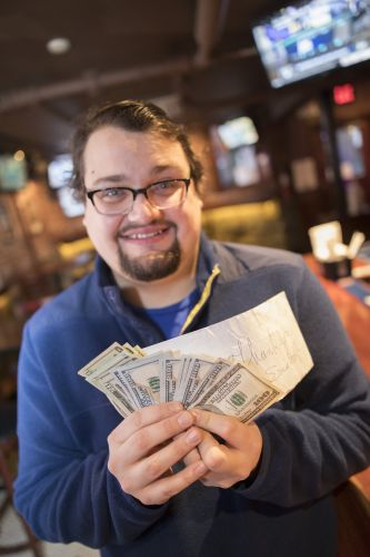 Surprise tipper leaves $2,021 at six different bars in Boston