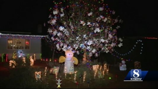 Angel tree is back in Marina to raise awareness