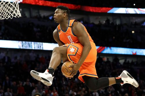 Zion Williamson's awe-inspiring NBA explosion is just beginning