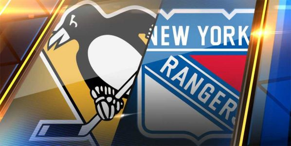 Penguins rally past Rangers, move into 2nd place tie with Islanders