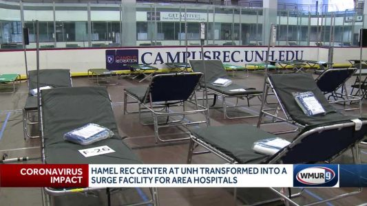 Temporary hospitals on university campuses ready to handle surge in patients