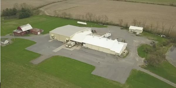 A woman died after falling into an industrial meat grinder at a factory in Pennsylvania