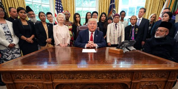 Trump asked 'Where is that?' when a Rohingya refugee asked him if he was doing anything to stop the genocide in Myanmar