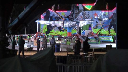 Girl dies after being flung from ride at a New Jersey festival