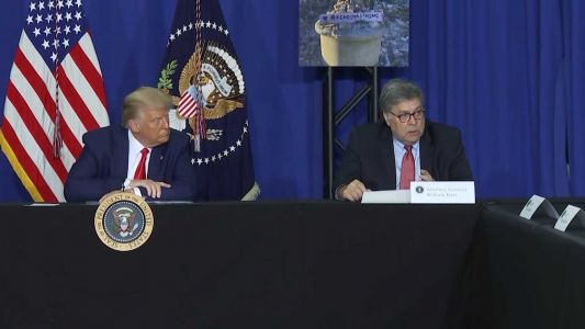 AG Barr says there is no evidence of widespread voter fraud