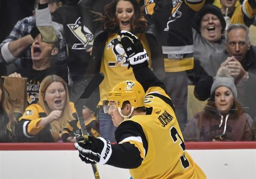 Jack Johnson earns redemption for own-goal during Penguins' comeback win against Boston