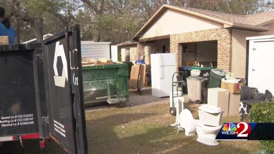 Race for renovations: Volunteers work to finish home for Orlando man with cancer
