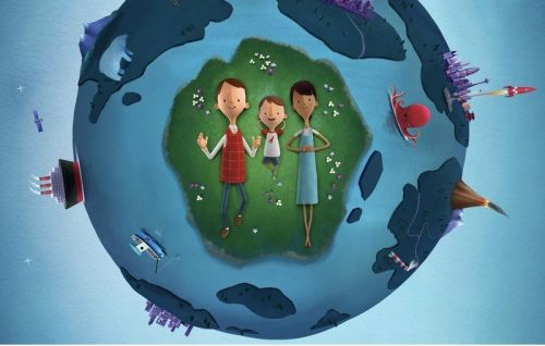 Today at Apple and Oliver Jeffers partner up for virtual Earth Day sessions