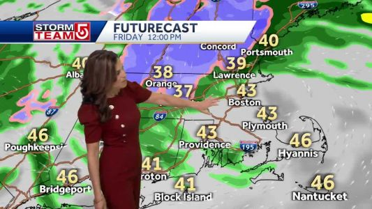 Video: Heavy rain, snow in forecast for some