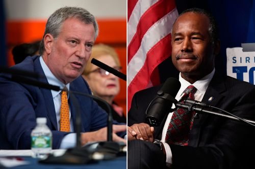 De Blasio meets with Ben Carson in DC to talk future of NYCHA