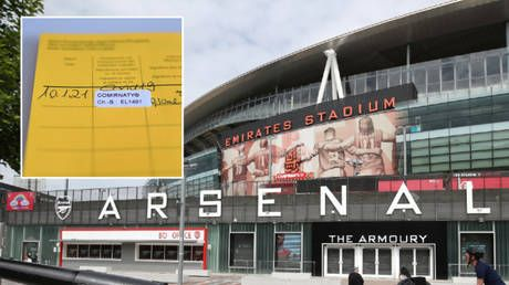 Premier League club Arsenal throw their weight behind 'vaccine passports' as they back British government plans for football fans