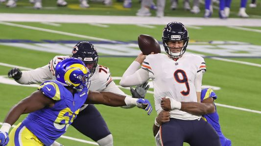 Bears QB Nick Foles reportedly criticizes Matt Nagy play calling: 'I'm the one out here getting hit'