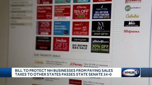 Senate passes bill to protect NH businesses from paying sales taxes to other states