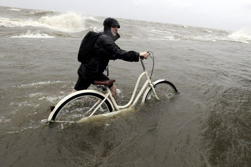 Barry drenches Gulf Coast, but initially spares New Orleans