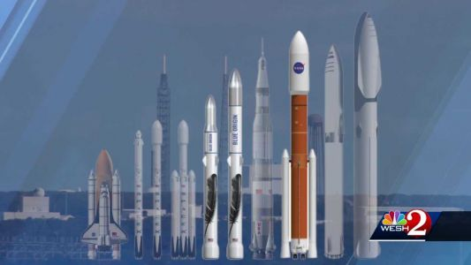 World's largest launch pad takes shape at Cape Canaveral