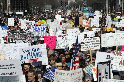 'March for Our Lives': Hundreds of thousands protesting gun violence across the globe