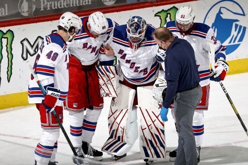 Rangers exhale after Igor Shesterkin's injury classified as 'mild'