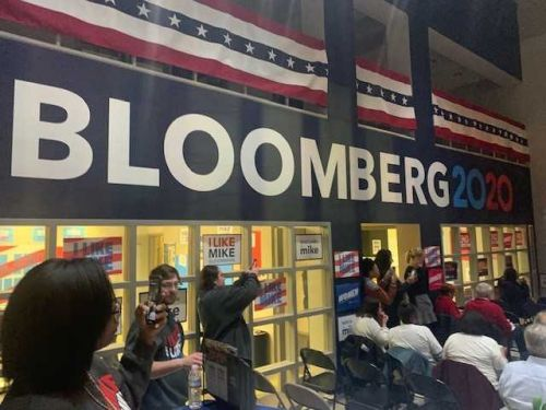 Bloomberg hones in on North Carolina ahead of Super Tuesday