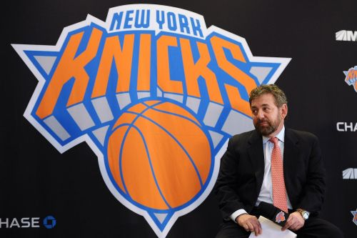 James Dolan won't rule out selling the Knicks after receiving $5 billion 'feelers' and now the stock is soaring