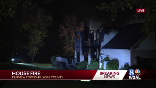 Fire destroys home in Fairview Township