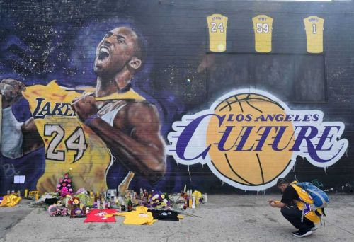NBA postpones Lakers' next game in wake of Kobe Bryant's death