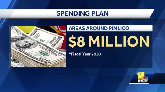 Spending plan for Pimlico Race Track, surrounding area released