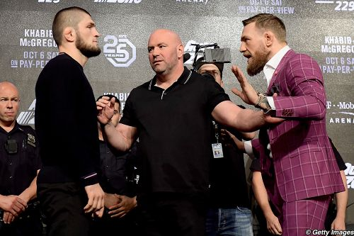 Dana White: UFC 229 news conference 'darkest' I've seen, Conor McGregor 'best ever' at mental warfare