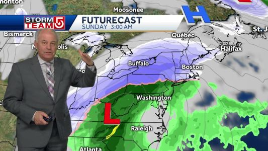 Video: Light snow Friday followed by bigger weekend storm