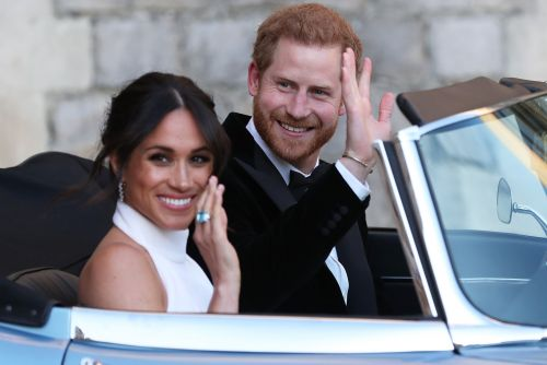 There was beer pong at Harry and Meghan's wedding reception