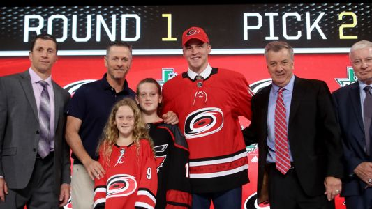 Hurricanes sign No. 2 pick Andrei Svechnikov to entry-level deal