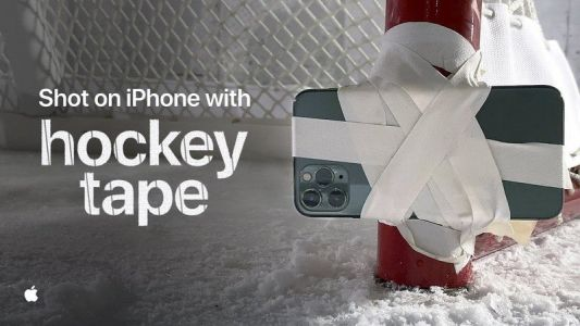 'Shot on iPhone - Hockey Tape' takes the iPhone 11 Pro to the ice