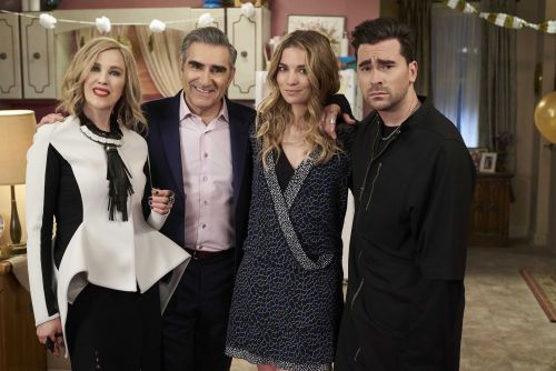 'Schitt's Creek' dominates Emmy Awards night