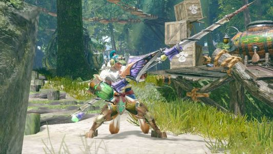 MHR: The Insect Glaive lets you perform aerial attacks and command a bug