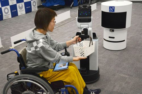 Tokyo's Olympics becoming showcase for Japan's robots