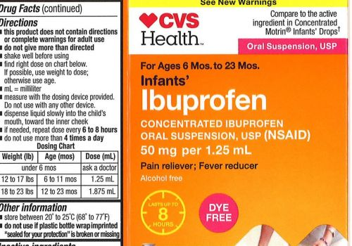 Recall of infant ibuprofen expanded; sold at Walmart, CVS, Family Dollar