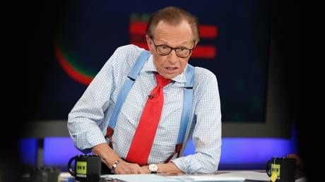 Larry King, legendary US TV & radio host, dies aged 87