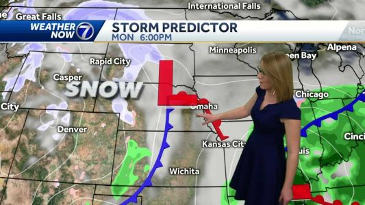 Another mild day, showers possible south this evening