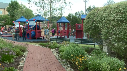 Inclusive playground opens in Bloomfield; features wheelchair swings, sensory interactive devices