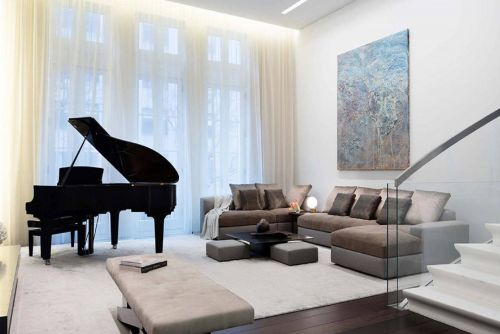 Swanky townhouse renovated after fire sells for $19M
